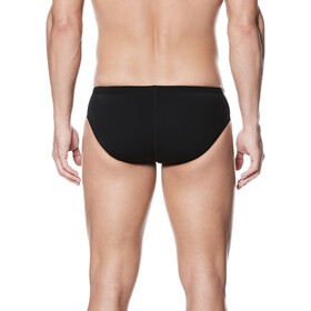 Nike Swim Poly Color Surge Brief Herren black